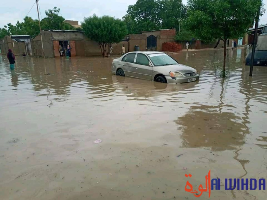 Tchad : une forte pluie et des dégâts à N'Djamena