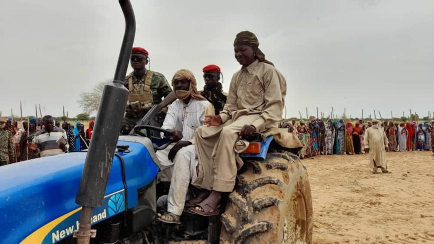 Tchad : la campagne agricole 2021-2022 lancée dans le Batha