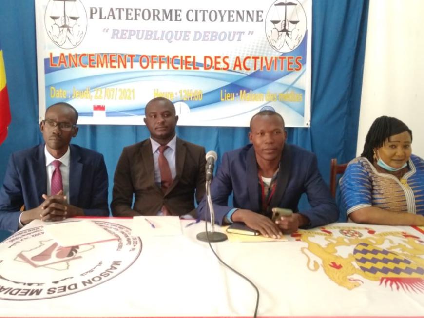 Tchad : la plateforme citoyenne République Debout lance ses activités