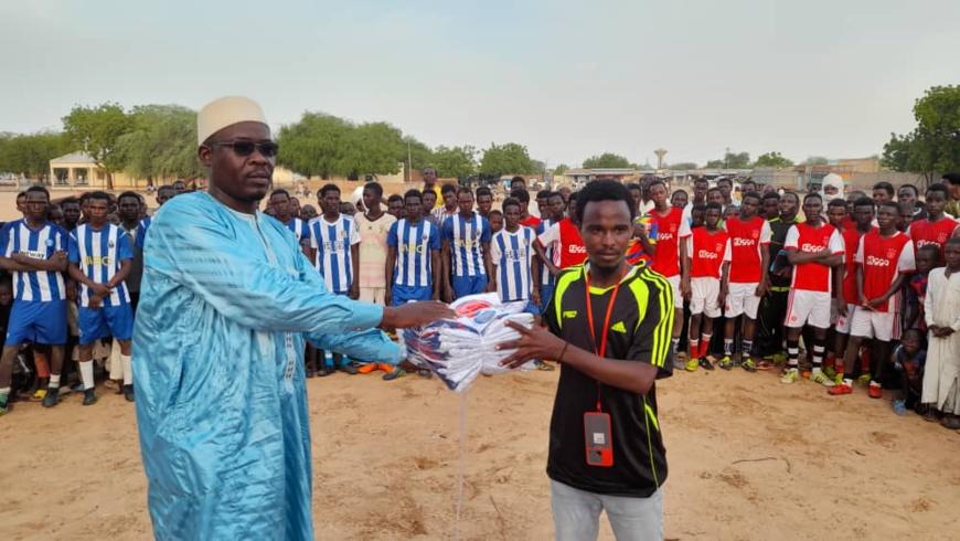 Tchad : les jeunes d'Ati initient un tournoi de football pour promouvoir la tolérance