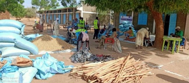 Tchad : les ménages vulnérables appuyés en intrants et outils agricoles au Sila