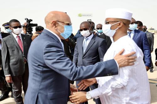 Mahamat Idriss Deby est arrivé en Mauritanie pour une visite de travail de deux jours