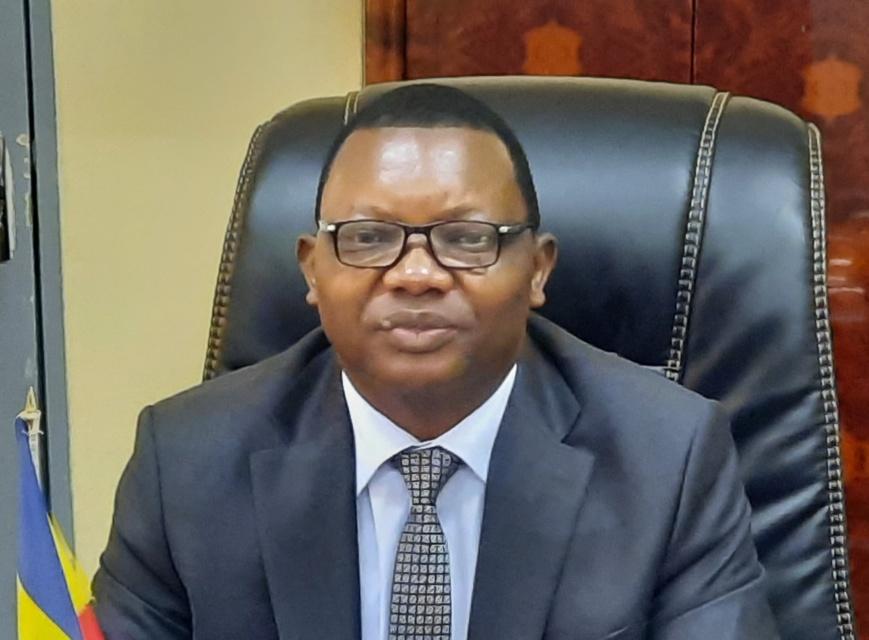 Le ministre de l'Éducation nationale et de la Promotion civique, Kosmadji Merci. © Min.Éducation