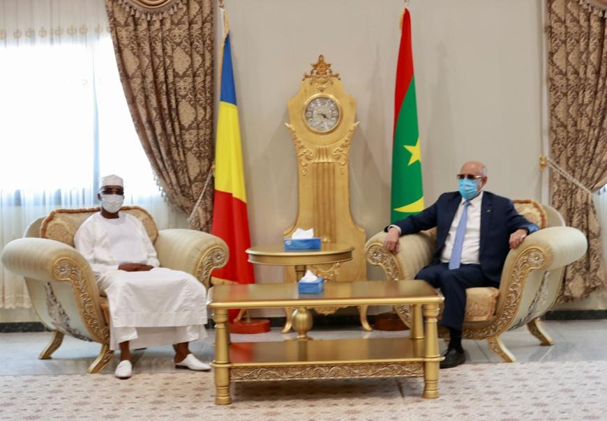 Tchad - Mauritanie : entretien entre Mahamat Idriss Deby et El Ghazouani