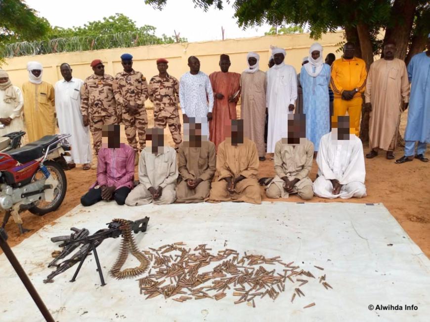 Tchad : six présumés malfrats arrêtés au Sila après le braquage d'un pasteur