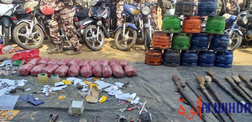 Tchad : la gendarmerie arrête des coupeurs de route et saisit des armes
