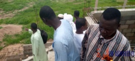 Tchad : des jeunes du Guera inspectent les chantiers en construction à Mongo