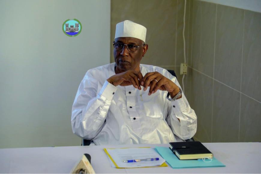 Le maire de la ville de N'Djamena, Ali Haroun. © Mairie NDJ