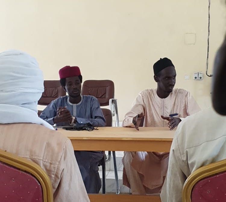 Tchad : l'ONAJES échange avec la jeunesse de Massakory sur l'insertion socio-économique