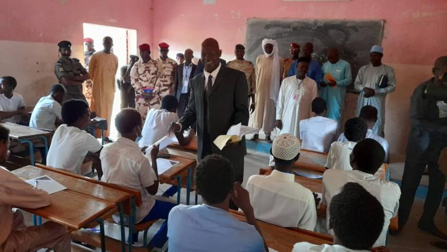 Tchad : 873 candidats composent les épreuves du baccalauréat au Batha