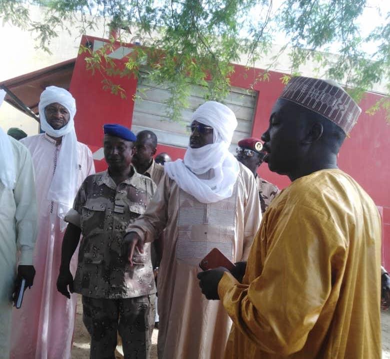 Tchad : visite inopinée du gouverneur du Kanem dans des structures étatiques. ©Djidda Mahamat Oumar/Alwihda Info