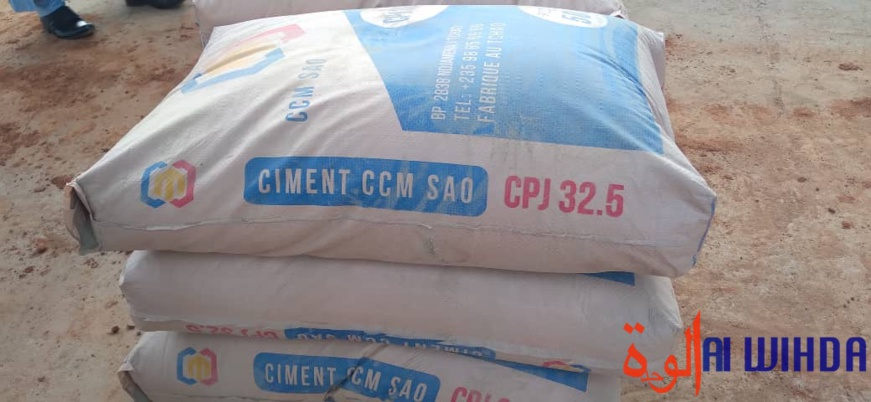 "Tchad : le ciment ""CCM SAO, 32,5"" sera vendu à 5500 Fcfa à Pala"