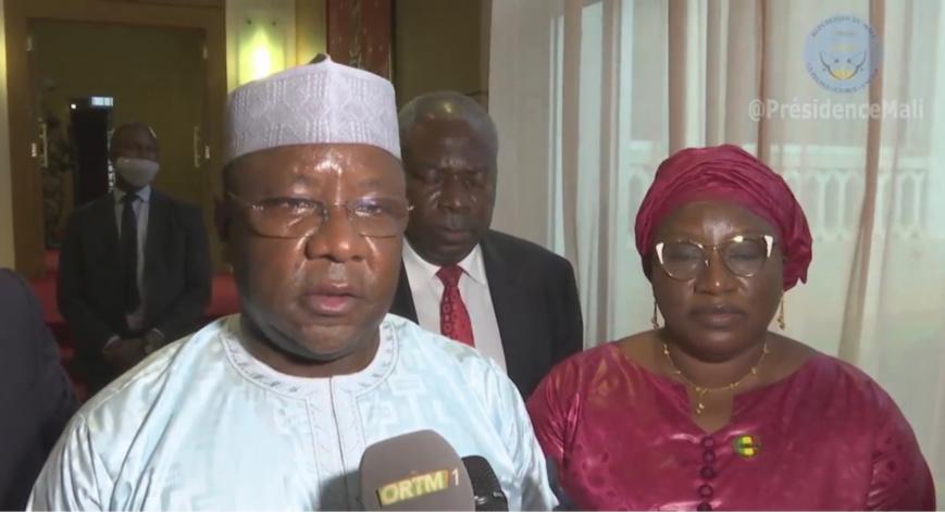 Mali : une délégation tchadienne rencontre le président de la transition