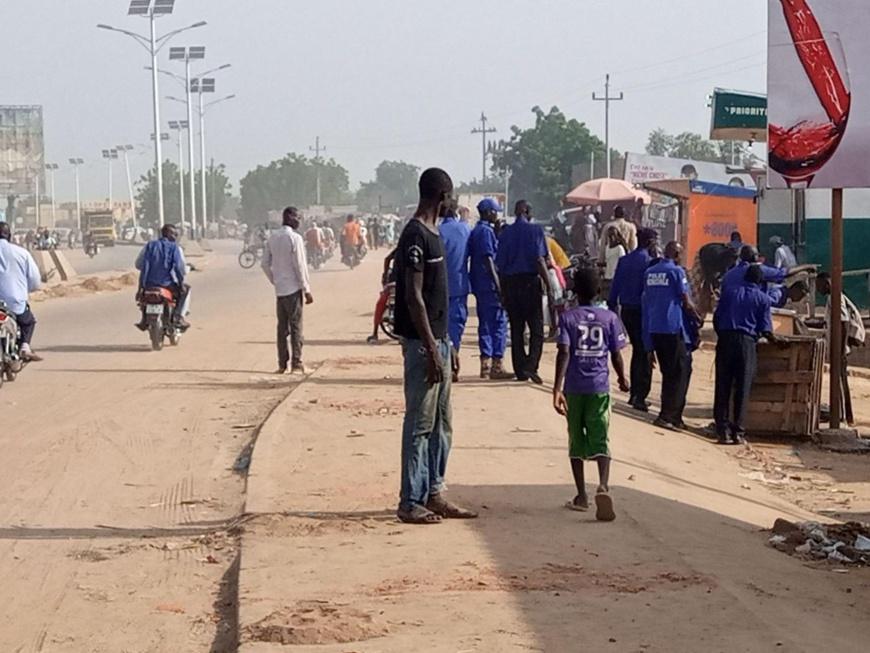 Tchad : la mairie évacue une chaussée engorgée dans le 9ème arrondissement