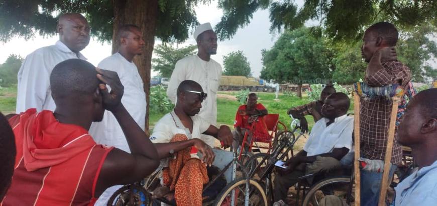 Tchad : retour à N'Djamena des personnes handicapées repliées à Kousseri