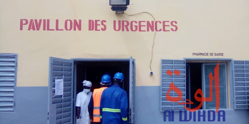 Le pavillon des urgences de l'hôpital de Pala. Illustration © Foka Mapagne/Alwihda Info
