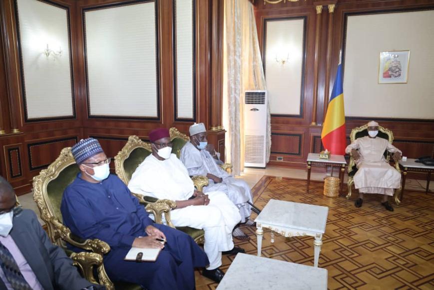 Transition au Tchad : l'envoyé spécial de la CBLT reçu en audience. ©PR