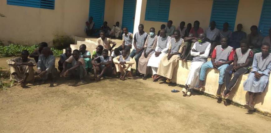 Tchad : remise collective de peines aux détenus de la maison d'arrêt de Mongo