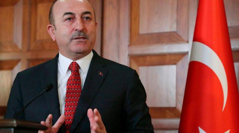 Le ministre turc des Affaires étrangères Mevlut Cavusoglu. © ADEM ALTAN / AFP