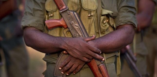 Un soldat congolais à Bangui, le 31 décembre 2012. (Ben Curtis/AP/SIPA)