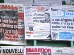 Journaux au Cameroun. Crédit photo : Sources