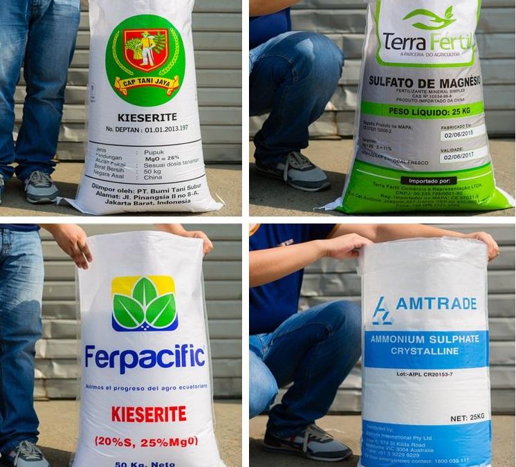 Togo : le prix du sac d'engrais de 50 kg maintenu à 12 500 FCFA