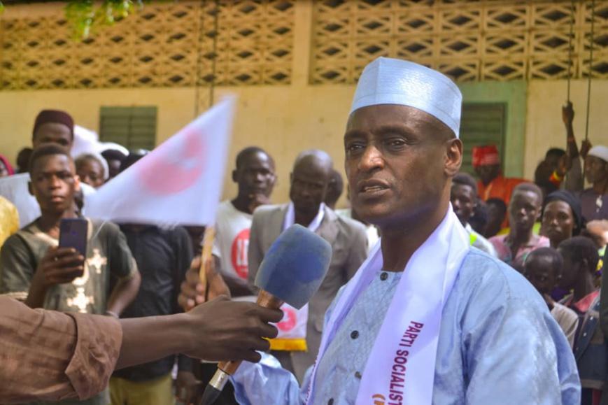 Tchad : Yaya Dillo a entamé une grande tournée au sud