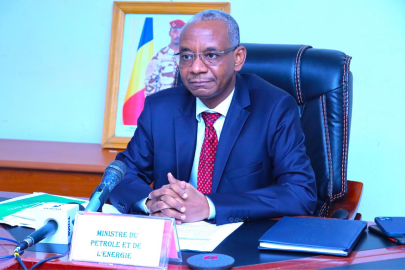 Le ministre du Pétrole et de l'Energie, Oumar Torbo Djarma.