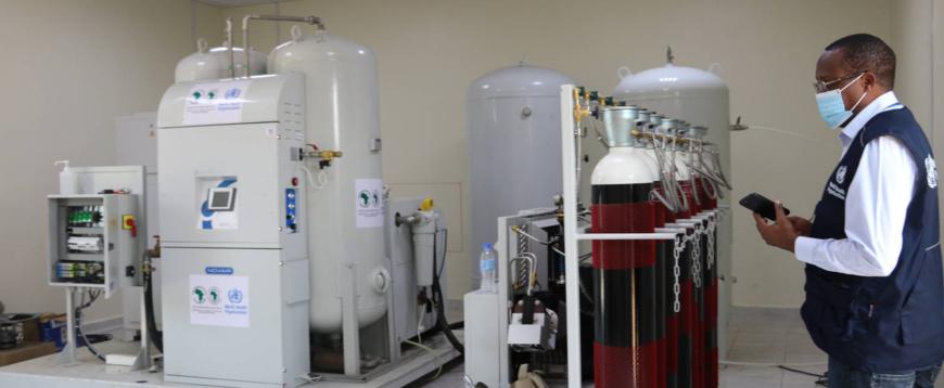 Soudan du Sud : l'hôpital de Juba doté d'une unité de production d'oxygène pour combattre le Covid-19