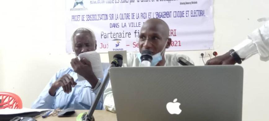 Tchad : les jeunes du Ouaddaï débattent sur la culture de la paix et l'engagement civique