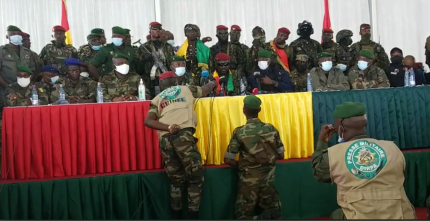 "Guinée : ""la justice sera la boussole qui orientera chaque citoyen"", promet le chef de la junte"