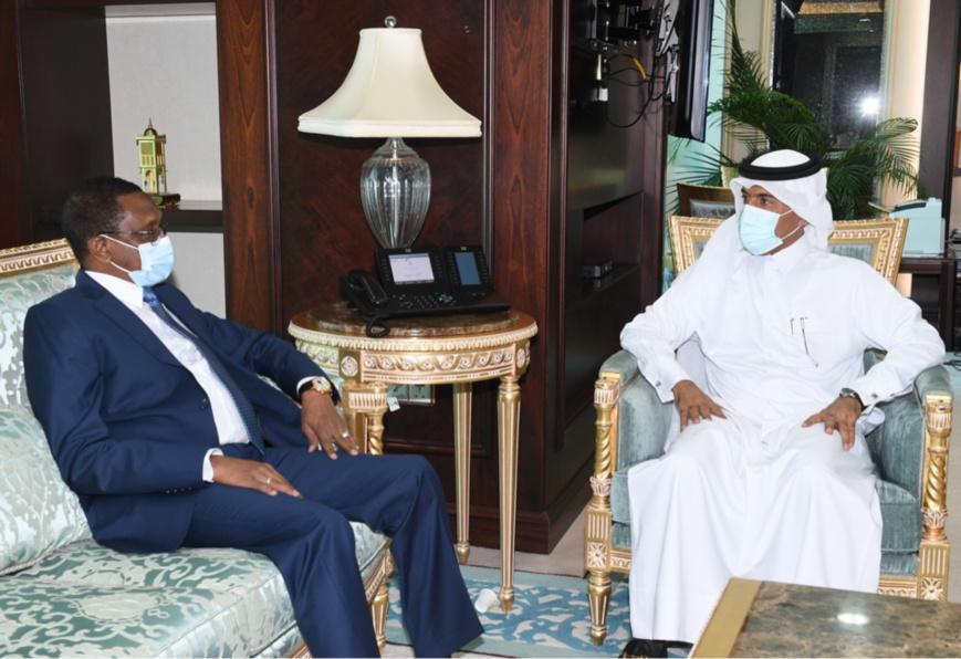 وزير الخارجية التشادي في الدوحة