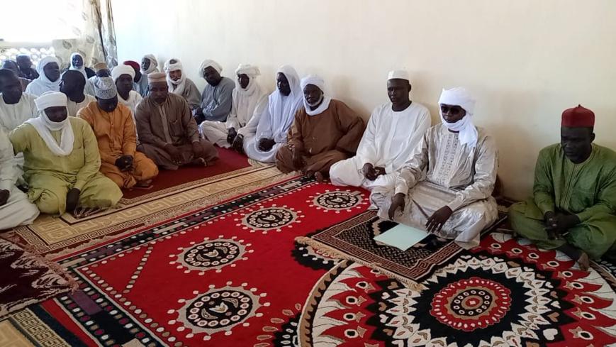 Tchad : le nouveau sultan de Dar Sila a rencontré les chefs traditionnels