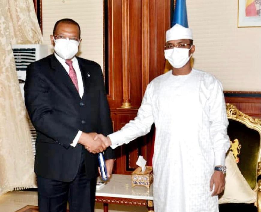 Tchad : le général Mahamat Idriss Deby reçoit une délégation de la BDEAC