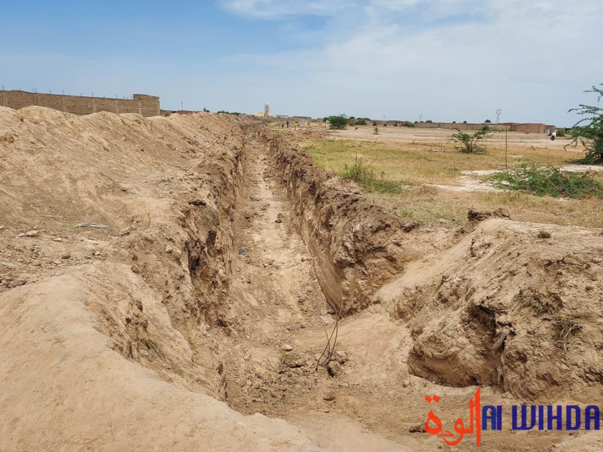 Tchad : la reprise de la construction d'une tranchée cernant la capitale inquiète la population