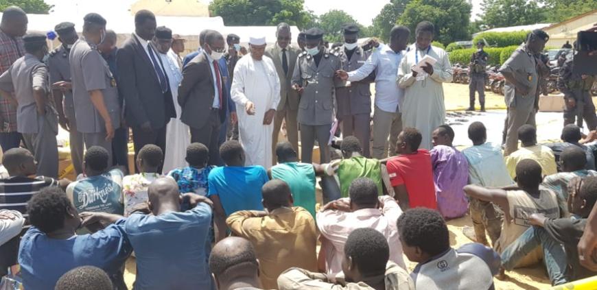 Tchad : 59 présumés malfaiteurs arrêtés par la police