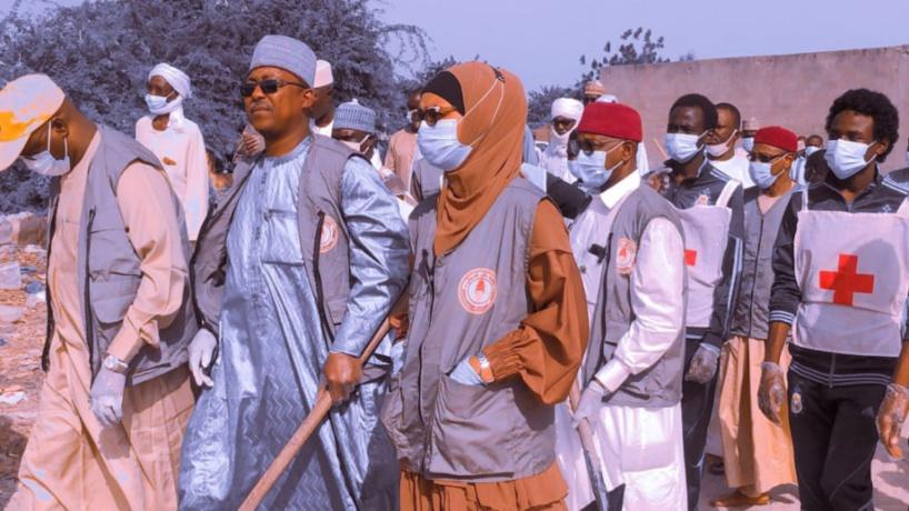 Tchad : Zilloul Arch nettoie un marché de N'Djamena et l'hôpital de Goz Attor