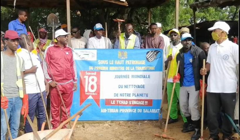 Tchad : Darbadja Zakouma contribue à la salubrité du marché central d'Am-Timan