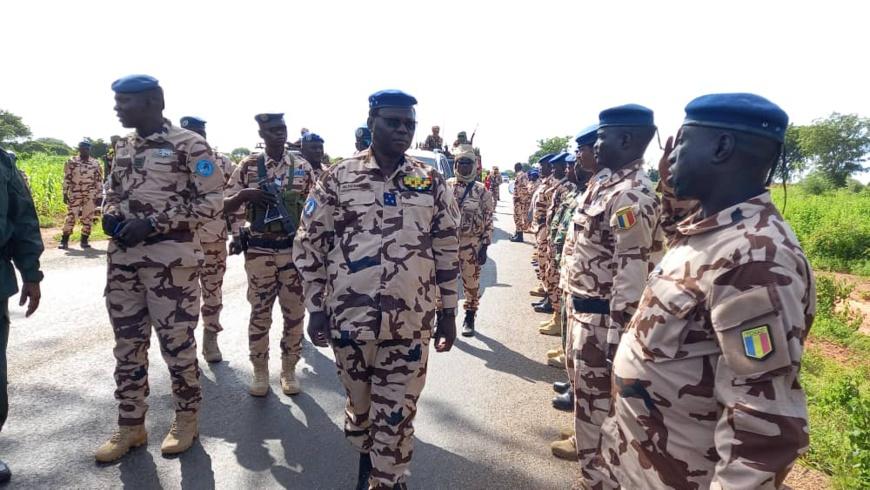 Tchad : en mission provinciale, le DG de la gendarmerie donne des fermes orientations
