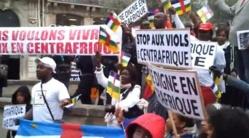 Une manifestation à Bangui. Crédit photo : lanouvellecentrafrique.info
