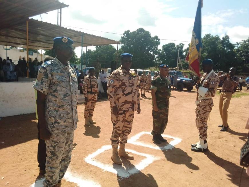 Tchad : le commandant de légion de gendarmerie n°15 installé à Doba