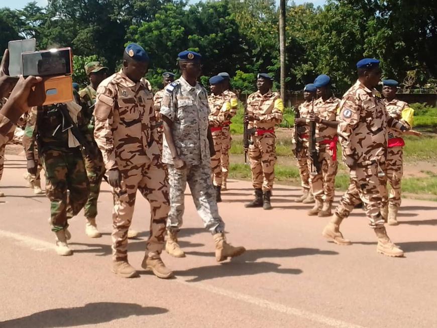 Tchad : en mission au Logone Oriental, le DG de la gendarmerie donne des consignes