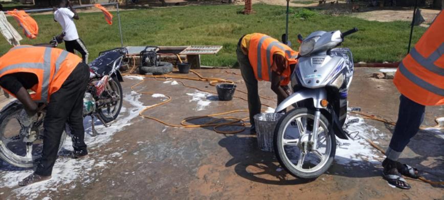 Tchad : les stations de lavage, un business fructueux pour les jeunes