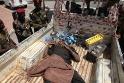 BANGUI. Un soldat de la Séléka tué par des civiles, en réprésailles à des exactions. Crédit photo : Sources