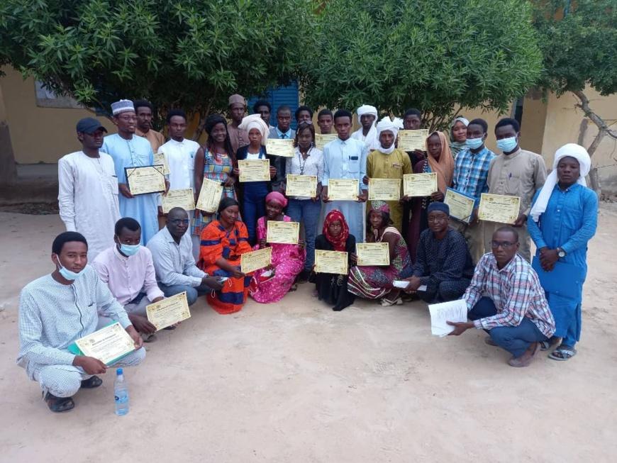 Tchad : des jeunes de Mao formés pour être des relais communautaires dans la ville