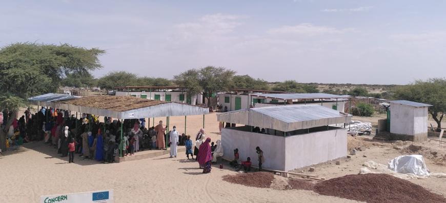 Tchad : Concern Worldwide offre un centre de santé aux déplacés et populations de  Forkoloum