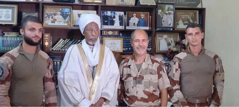 Tchad : le président du CSAI a reçu l'aumônier militaire de l'armée française