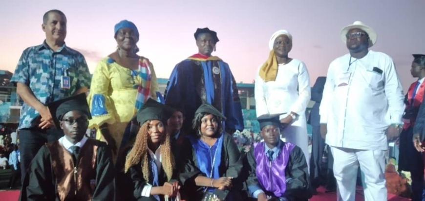 Tchad : 826 étudiants de l'Université Emi Koussi reçoivent leurs parchemins