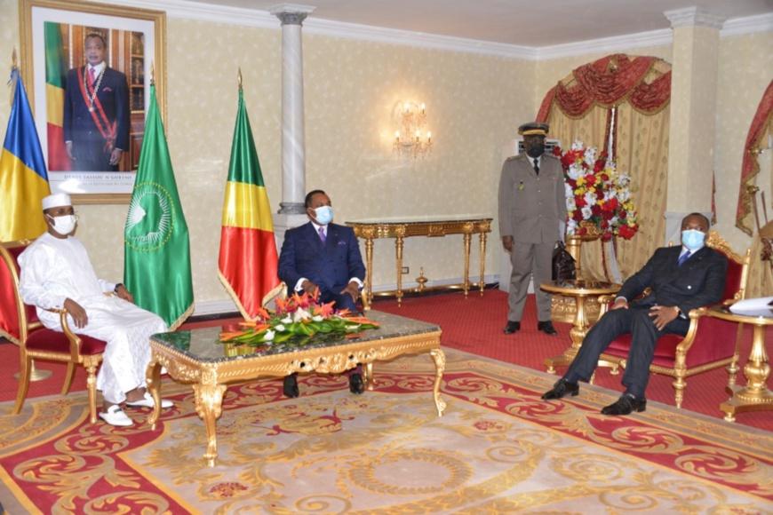 Tête à tête Denis Sassou-N'Guesso-Mahamat Idriss Deby Itno.