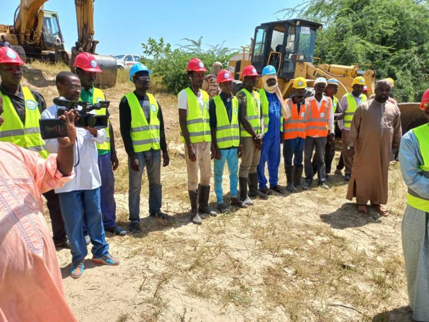 Tchad : des travaux de curage et de reprofilage des digues lancés à Bol